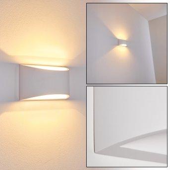 Patea Lampa ścienna Biały, 1-punktowy
