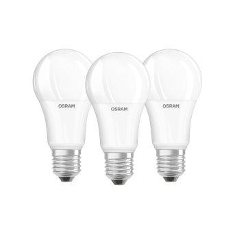 Osram LED E27 13 Watt 4000 Kelvin 1521 Lumen zestaw trzech