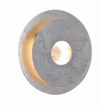 WOFI AFIR Lampa ścienna LED Srebrny, 1-punktowy