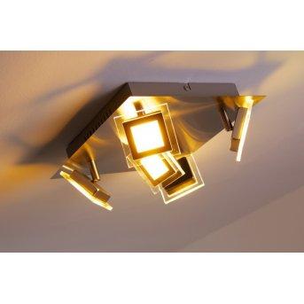 Wofi Cholet lampa sufitowa LED Nikiel matowy, 5-punktowe