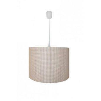 Waldi Vichy lampa wisząca Biały, 1-punktowy