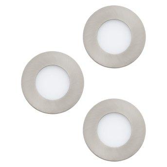 Eglo FUEVA Oprawa wpuszczana LED Nikiel matowy, 3-punktowe