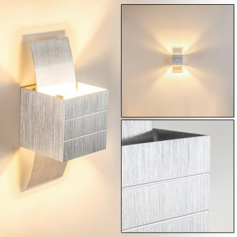 Baltimore Lampa ścienna LED Aluminium, 1-punktowy