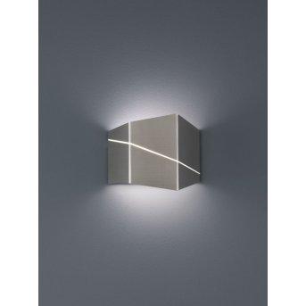 Trio ZORRO Lampa ścienna LED Nikiel matowy, 1-punktowy