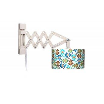 Waldi Schere Affe lampa ścienna Brązowy, 1-punktowy