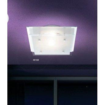 Globo INDI lampa sufitowa Chrom, Biały, 1-punktowy