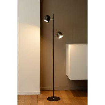 Lucide SKANSKA lampa stojąca LED Czarny, 2-punktowe