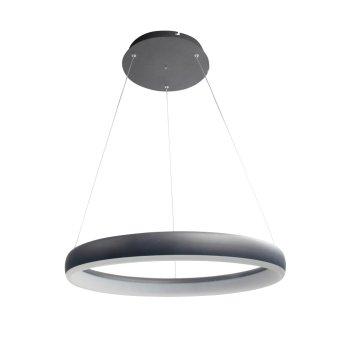 WOFI CLINT Lampa Wisząca LED Czarny, 1-punktowy, Zdalne sterowanie