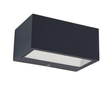 Zewnętrzny kinkiet Lutec GEMINI LED Antracytowy, 1-punktowy