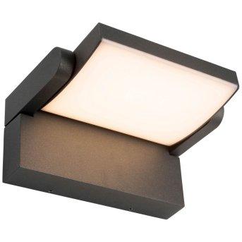 AEG Grady Zewnętrzny kinkiet LED Antracytowy, 1-punktowy