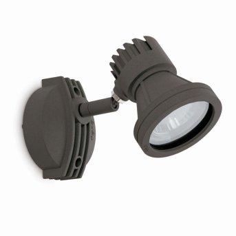 Faro MINI-PROJECT Zewnętrzny reflektor Siwy, 1-punktowy