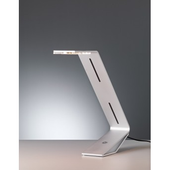 Tecnolumen Flad Lampa stołowa LED Siwy, Srebrny, 1-punktowy