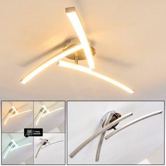 Tusula Lampa Sufitowa LED Stal nierdzewna, 3-punktowe