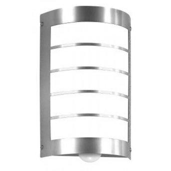 CMD Aqua Marco Lampa ścienna Stal nierdzewna, 1-punktowy, Czujnik ruchu