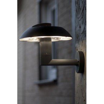 Lutec Spril zewnętrzny kinkiet LED Antracytowy, 6-punktowe