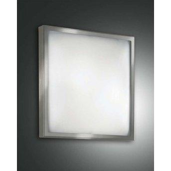 Fabas Luce OSAKA lampa sufitowa Nikiel matowy, 2-punktowe