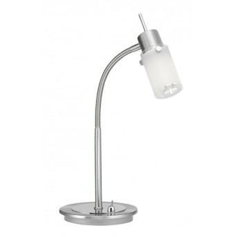 Leuchten Direkt MAX LED Lampa stołowa Stal nierdzewna, 1-punktowy