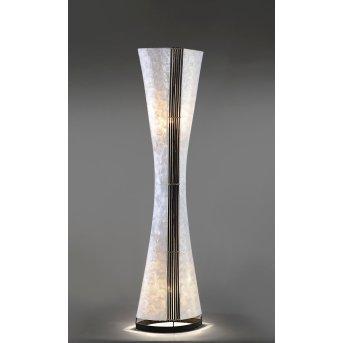 Paul Neuhaus ABUJA Lampa Stojąca Czarny, Biały, 2-punktowe