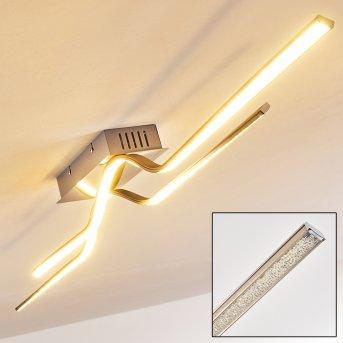 Jamjo Lampa Sufitowa LED Nikiel matowy, 1-punktowy
