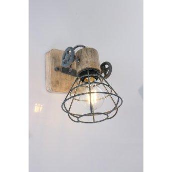 Anne Lighting ANNE Lampa ścienna Siwy, 1-punktowy