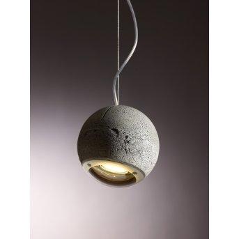 Tecnolumen Trabant Lampa wisząca o wyglądzie kamienia, 1-punktowy