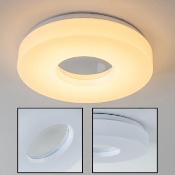 Loris lampa sufitowa LED Biały, 1-punktowy