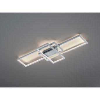 Trio THIAGO Lampa Sufitowa LED Nikiel matowy, 1-punktowy, Zdalne sterowanie, Zmieniacz kolorów