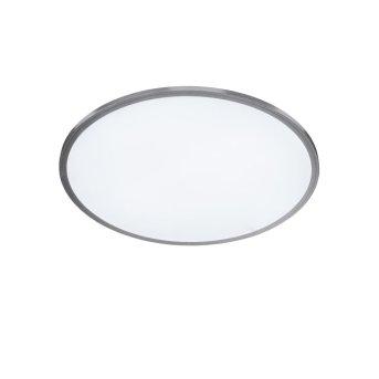 Lampa Sufitowa WOFI LINOX LED Srebrny, 1-punktowy, Zdalne sterowanie, Zmieniacz kolorów