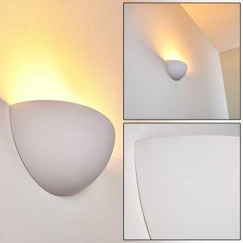 Linares Lampa ścienna Biały, 1-punktowy