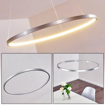 Canisteo Lampa Wisząca LED Srebrny, 1-punktowy