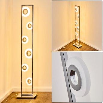 Obip Lampa Stojąca LED Chrom, 1-punktowy