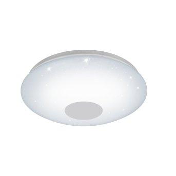 Eglo VOLTAGO-C Lampa Sufitowa LED Biały, Kryształowa, 1-punktowy, Zmieniacz kolorów