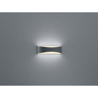 Trio-Leuchten Konda Lampa ścienna LED Antracytowy, 1-punktowy