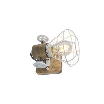 Anne Lighting ANNE Lampa ścienna Biały, 1-punktowy