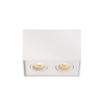 Lucide TUBE lampy sufitowe listwy Biały, 2-punktowe
