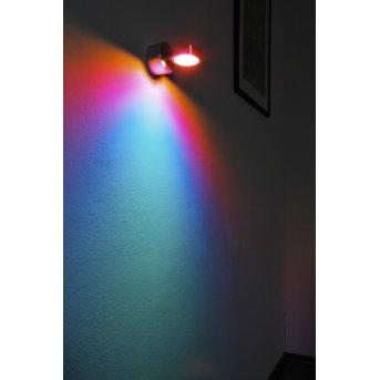 Harare lampa ścienna LED Aluminium, 1-punktowy