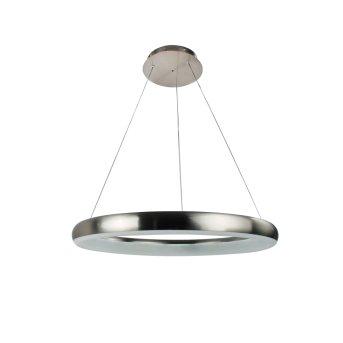 WOFI CLINT Lampa Wisząca LED Nikiel matowy, 1-punktowy, Zdalne sterowanie