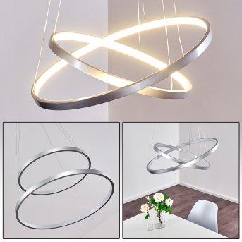 Canisteo Lampa Wisząca LED Srebrny, 2-punktowe