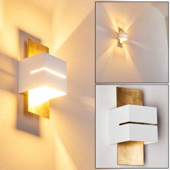 Tora Lampa ścienna Złoty, 1-punktowy