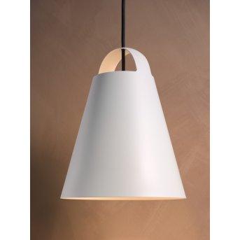 Louis Poulsen ABOVE Lampa Wisząca Biały, 1-punktowy