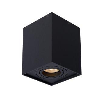 Lucide TUBE Reflektor sufitowy Czarny, 1-punktowy