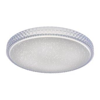 Leuchten Direkt Ls-FRIDA Lampa Sufitowa LED Przezroczysty, 1-punktowy, Zdalne sterowanie, Zmieniacz kolorów