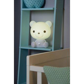 Lucide DODO Bear Lampa stołowa LED Biały, 1-punktowy