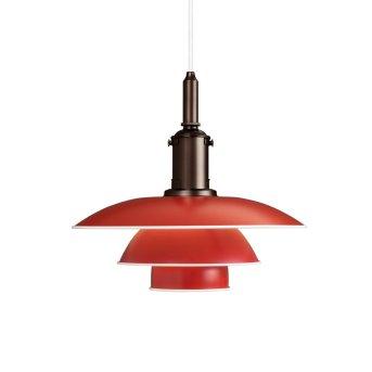 Louis Poulsen Lampa Wisząca Czerwony, 1-punktowy