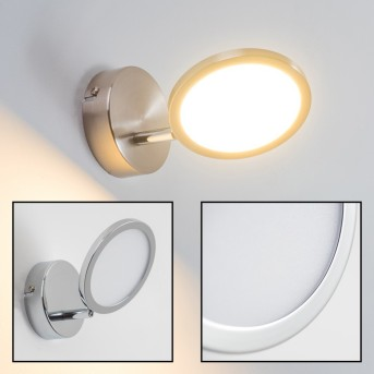 Alberton Lampa ścienna LED Jasnobrązowy, 1-punktowy