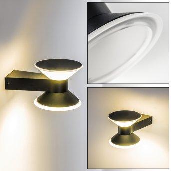 CONE Zewnętrzny kinkiet LED Antracytowy, 2-punktowe
