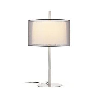 Faro Saba Lampa stołowa Nikiel matowy, 1-punktowy