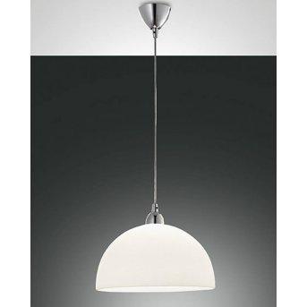 Fabas Luce NICE lampa wisząca Chrom, 1-punktowy