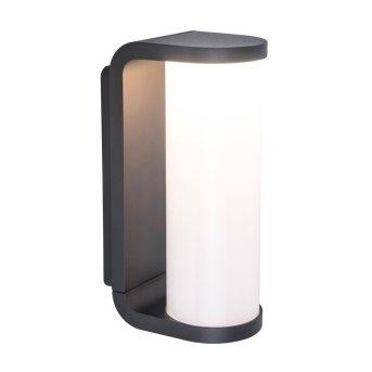 Zewnętrzny kinkiet Lutec ADALYN LED Antracytowy, 1-punktowy