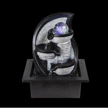 Globo ALBERT studnia LED Siwy, 4-punktowe, Zmieniacz kolorów